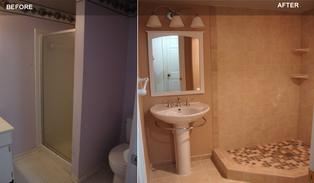 Bathroom Remodeling Montgomery Co MD Handyman Services - Gaithersburg bathroom remodeling