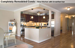 Bethesda MD Kitchen remodeled