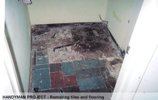 handyman flooring repairs Montgomery Co MD