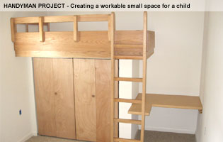 handyman project make small space usable