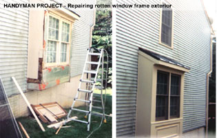 handyman exterior repairs Montgomery Co MD
